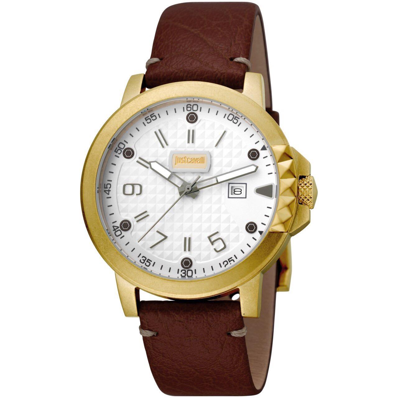 کد تخفیف                                      ساعت مچی عقربه ای مردانه جاست کاوالی مدل JC1G016L0055