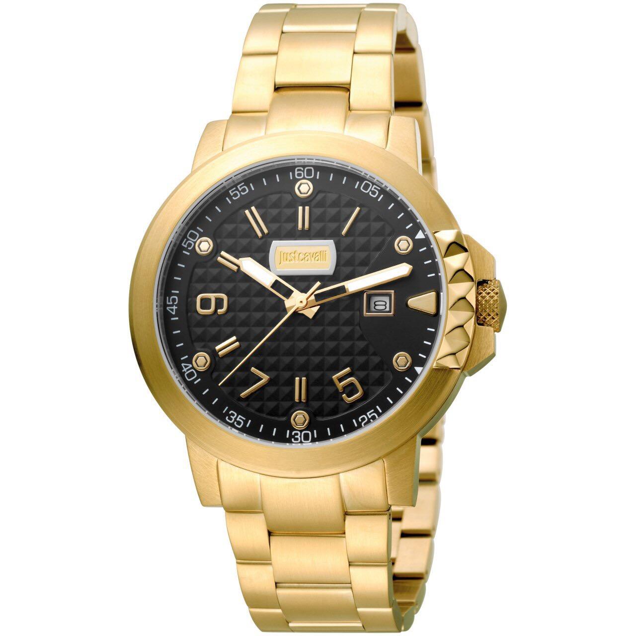ساعت مچی عقربه ای مردانه جاست کاوالی مدل JC1G016M0085