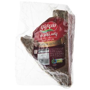 پاسترامی گوشت گوساله سولیکو مقدار 300 گرم
