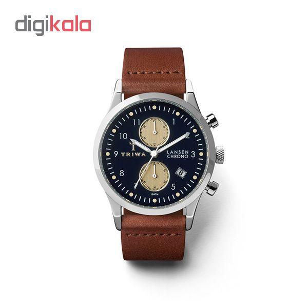 ساعت مچی عقربه ای تریوا مدل Pacific Lansen chrono