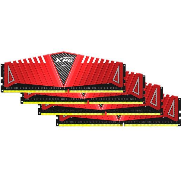رم دسکتاپ DDR4 چهار کاناله 2400 مگاهرتز CL16 ای دیتا مدل XPG Z1 ظرفیت 32 گیگابایت