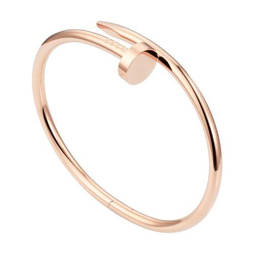 دستبند النگویی طرح میخ کد B952