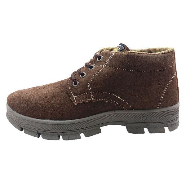 کفش کوهنوردی مردانه نسیم مدل ارسطو کد BROWN 08