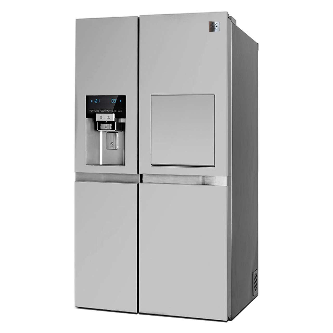 یخچال و فریزر ساید بای ساید دوو مدل D2S-3033SS