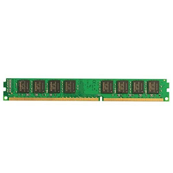 رم کامپیوتر کینگستون مدل ValueRAM DDR3 1600MHz CL11 ظرفیت 4 گیگابایت | Kingston ValueRAM 4GB DDR3 1600MHz CL11 Single Channel RAM KVR16N11S8/4