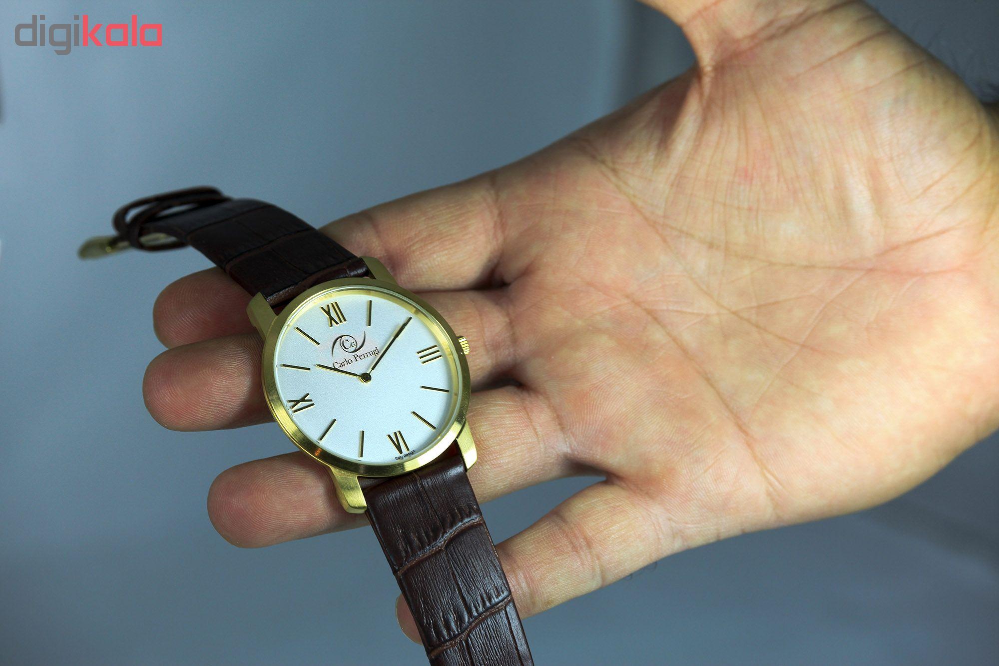 خرید ساعت مچی عقربه ای مردانه کارلو پروجی مدل CG3003