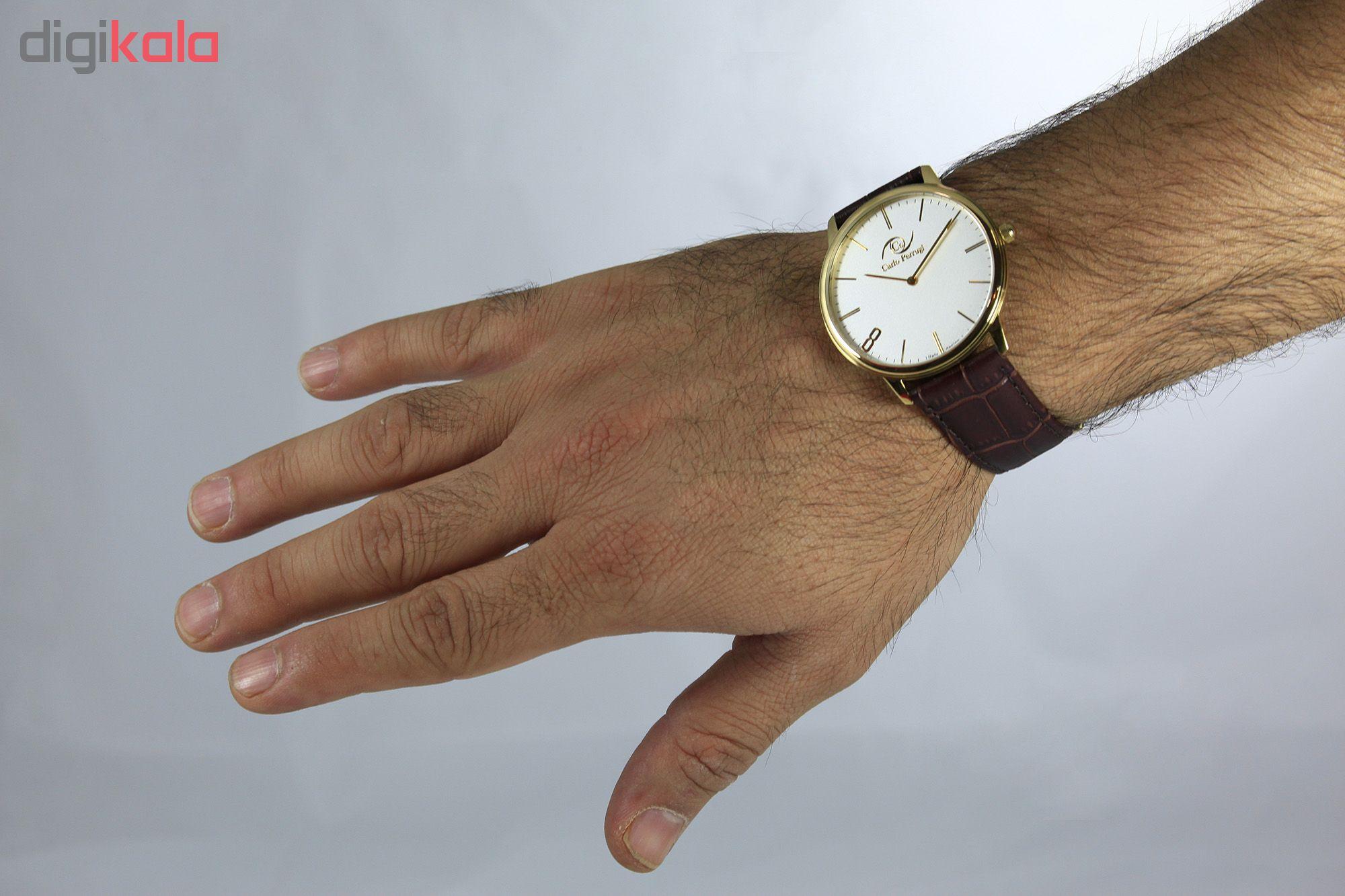 خرید ساعت مچی عقربه ای مردانه کارلو پروجی مدل CG3004