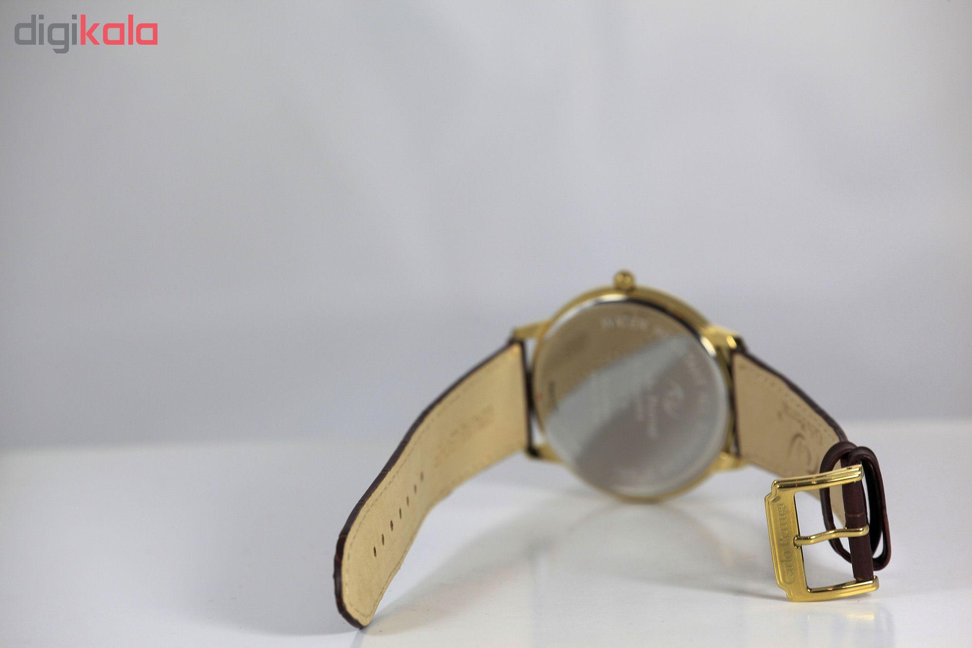 ساعت مچی عقربه ای مردانه کارلو پروجی مدل CG3004