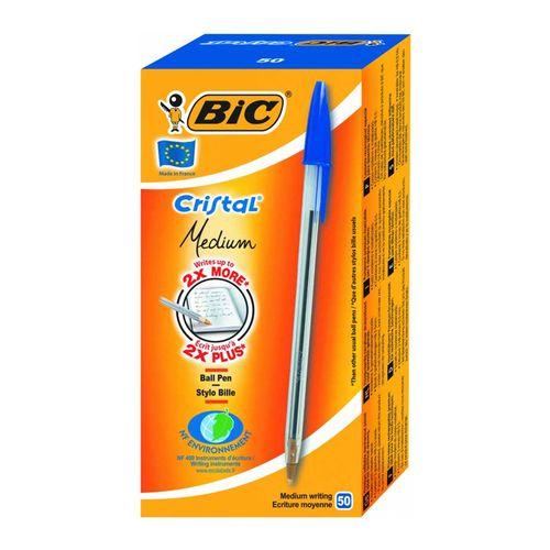 خودکار بیک مدل Cristal Medium بسته 50 عددی