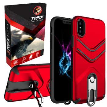 کاور تاپیکس مدل Shock Proof مناسب برای گوشی موبایل آیفون X