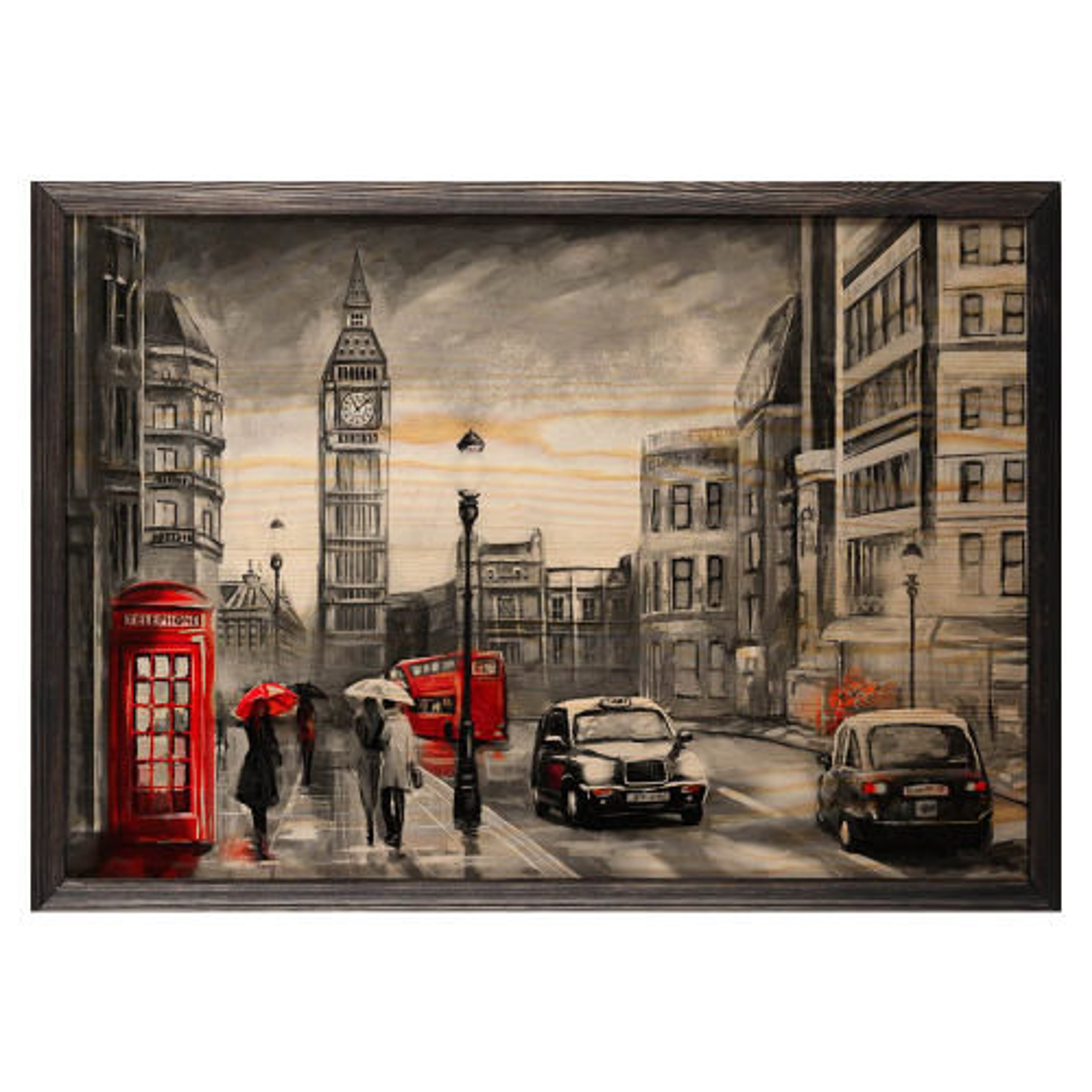 تابلو چوب آتینو مدل London