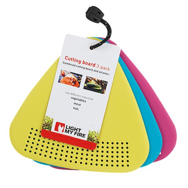 تخته برش لایت مای فایر مدل Cutting Board 3-pack بسته 3 عددی