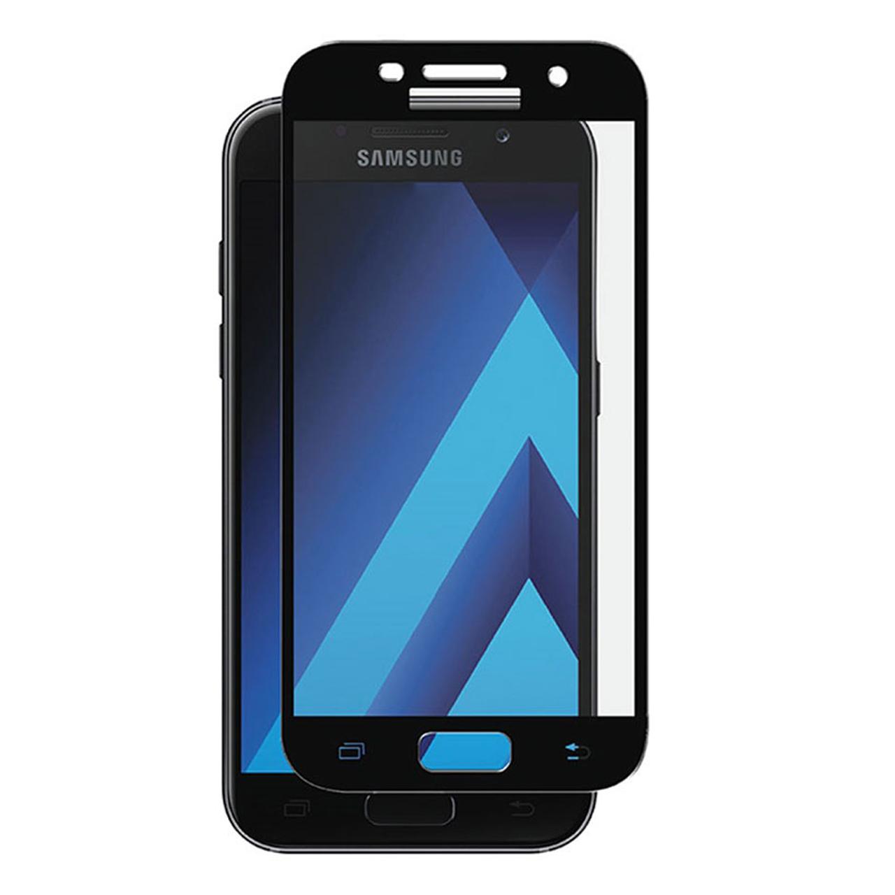 محافظ صفحه نمایش شیشه ای مدل colorfol مناسب برای گوشی موبایل سامسونگ a520/a5 2017