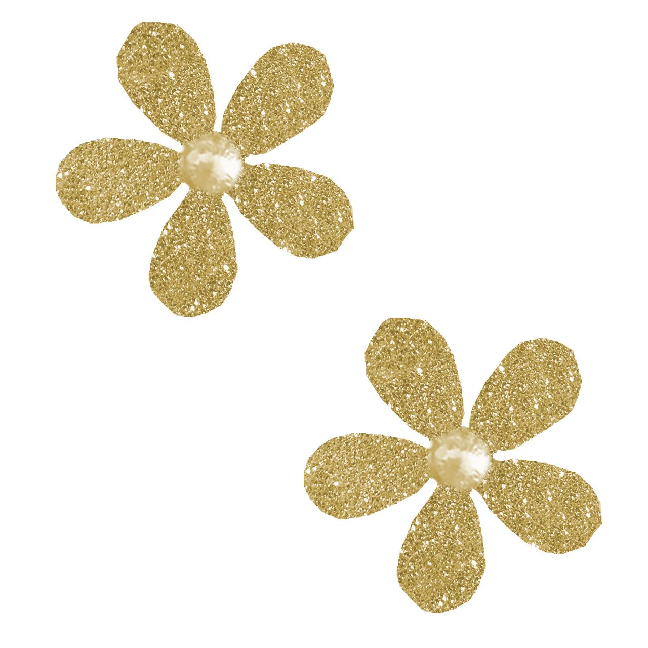 گوشواره طلا 18 عیار نازنین کد T860
