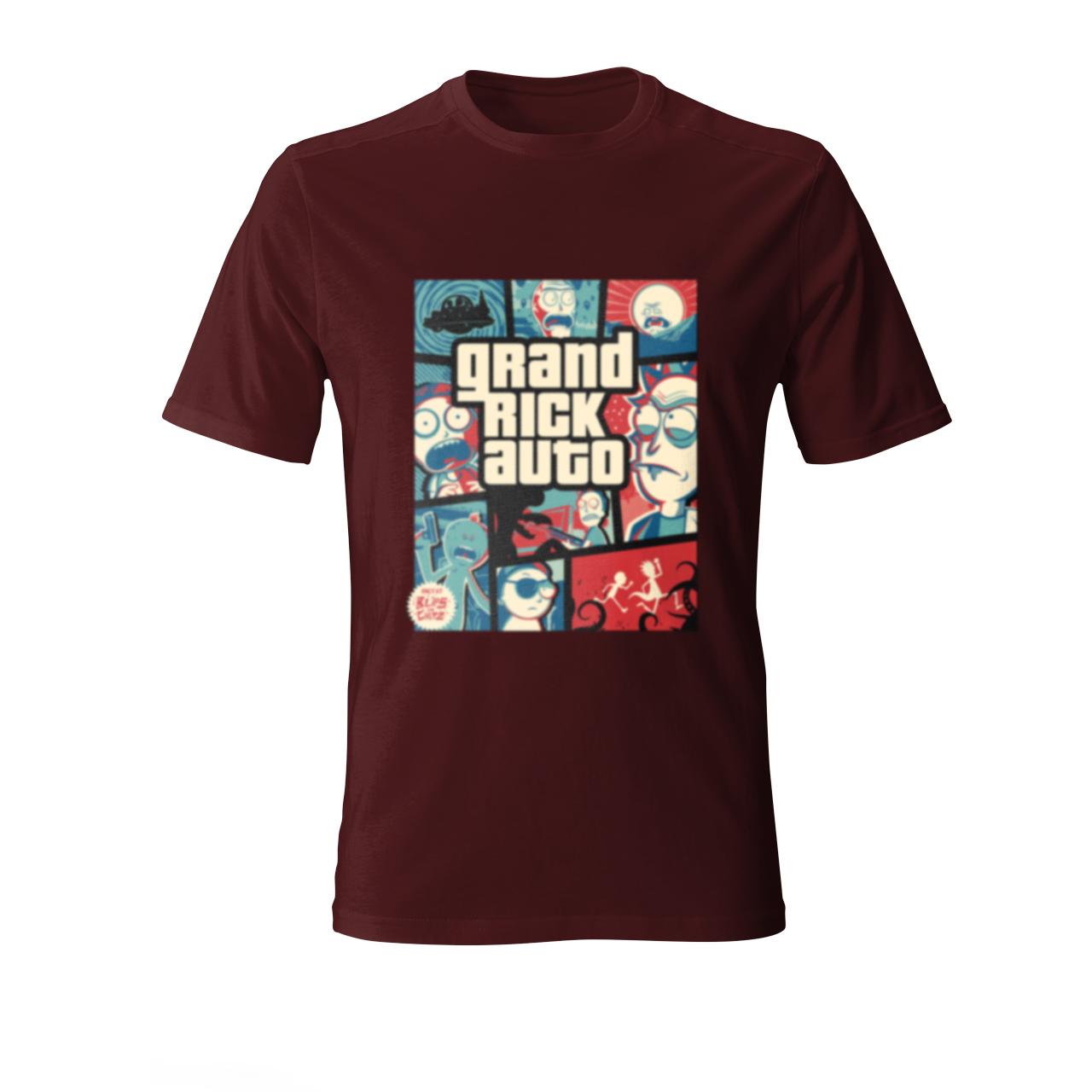 تی شرت مردانه مدل ریک جی تی ای