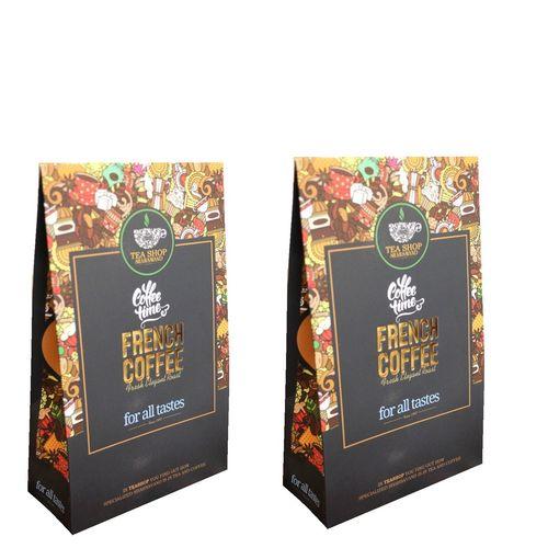 قهوه آسیاب شده شاهسوند مدل فرانسه مجموعه 2 عددی