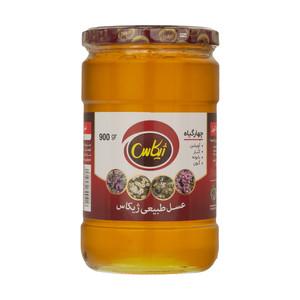 عسل چهار گیاه طبیعی ژیکاس - 900 گرم