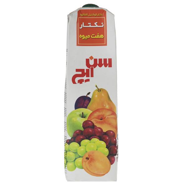نکتار هفت میوه سن ایچ حجم 1 لیتر