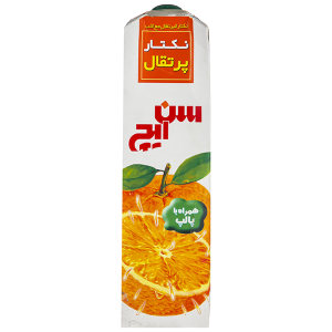 نکتار پرتقال سن ایچ حجم 1 لیتر