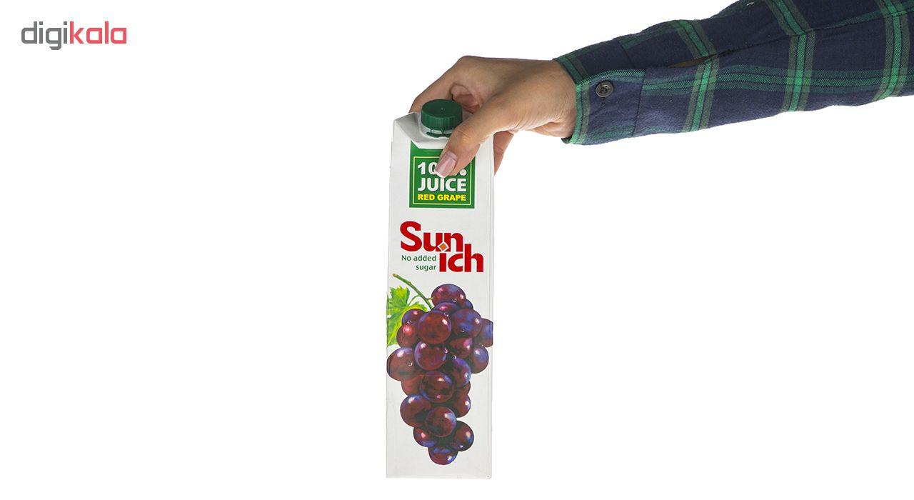 آبمیوه انگور قرمز سن ایچ حجم 1 لیتر main 1 4
