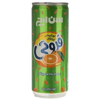 نوشیدنی پرتقال همراه با تکه های پرتقال سن ایچ مقدار 0.24 لیتر