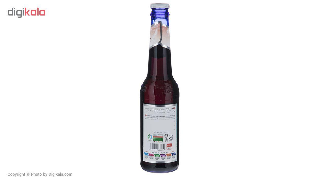 نوشیدنی گازدار آلبالو سن ایچ کول حجم 0.32 لیتر