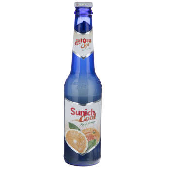 نوشیدنی گازدار پرتقال سن ایچ کول حجم 0.32 لیتر