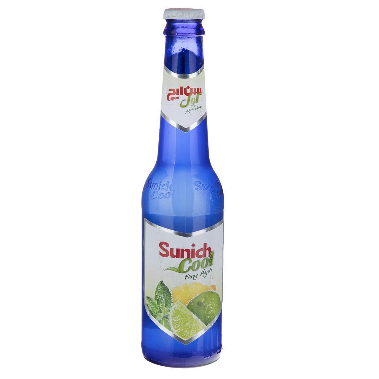 نوشیدنی گازدار لیمو با طعم نعنا سن ایچ کول حجم 0.32 لیتر