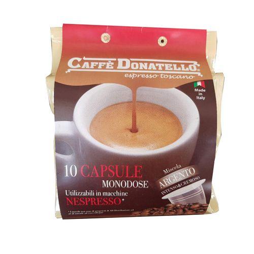کپسول قهوه دوناتلو مدل ARGENTO بسته 10 عددی