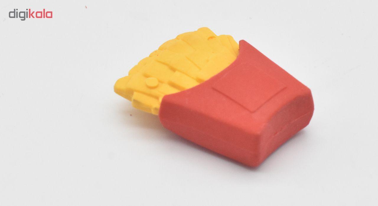 پاکن  مدل 2 Erasers Fast Food بسته 2 عددی  main 1 3