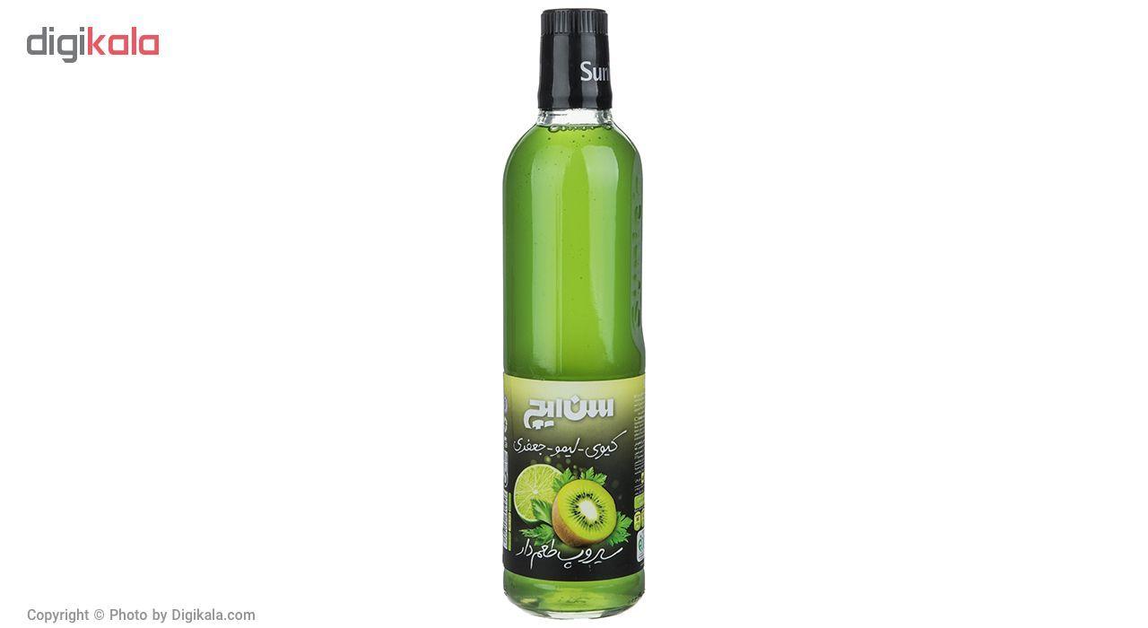 سیروپ کیوی لیمو جعفری سن ایچ مقدار 780 گرم main 1 1