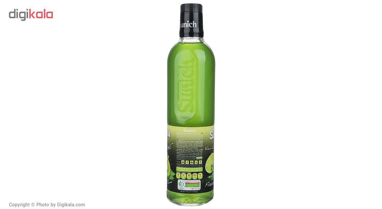 سیروپ کیوی لیمو جعفری سن ایچ مقدار 780 گرم main 1 2