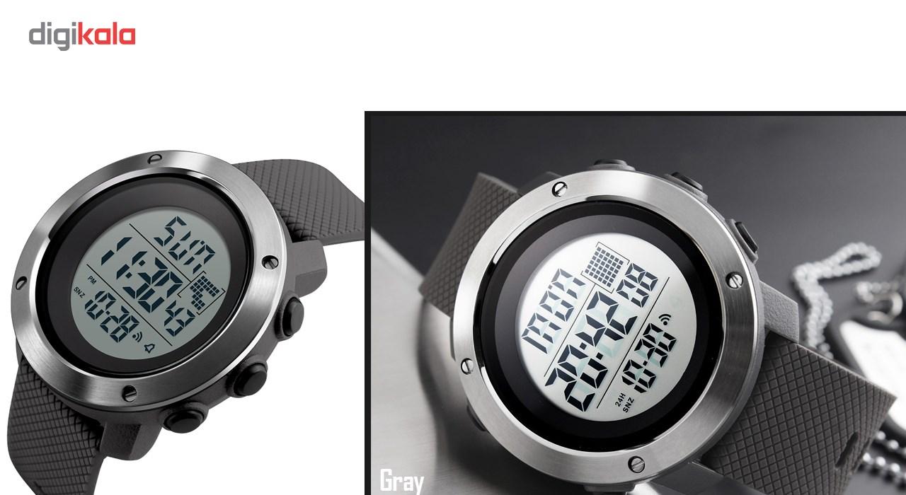 ساعت مچی دیجیتال مردانه اسکمی مدل 1267 کد 03