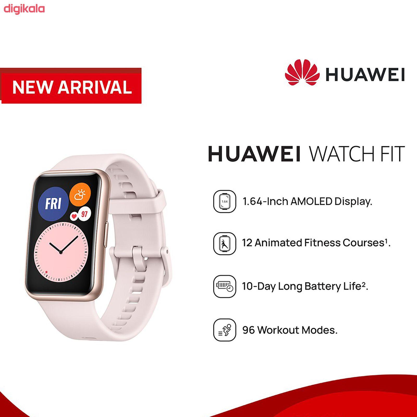 ساعت هوشمند هوآوی مدل WATCH FIT main 1 6