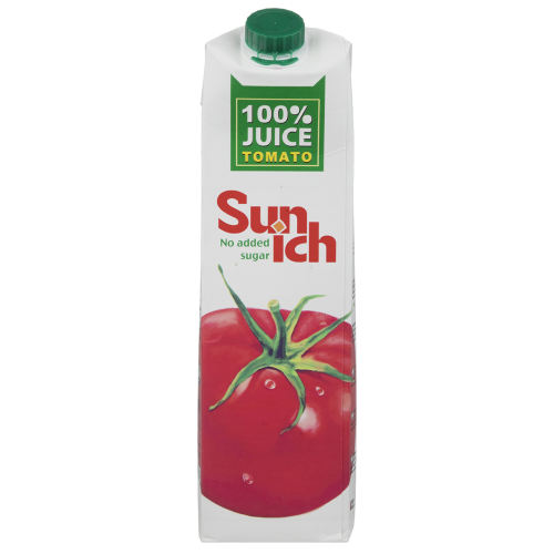 آبمیوه گوجه فرنگی سن ایچ مقدار 1 لیتر