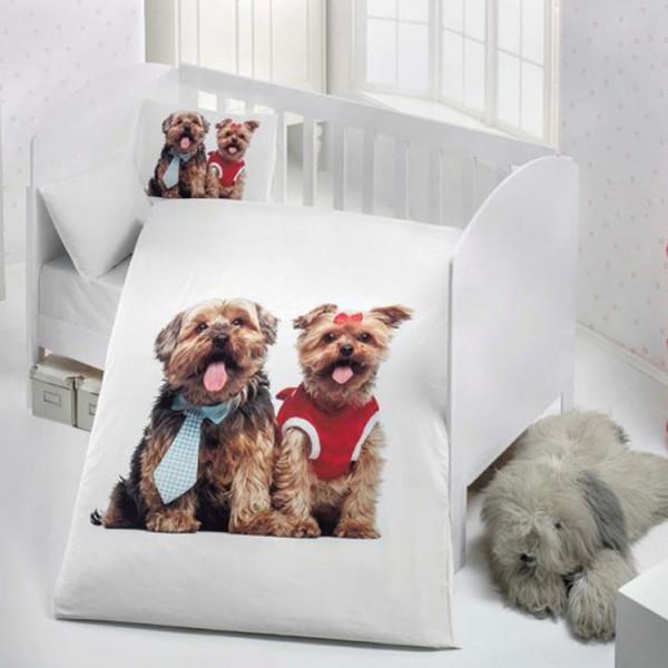 سرویس خواب 4 تکه نوزادی وارل طرح Dogs