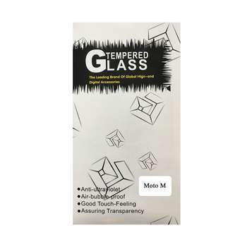 محافظ صفحه نمایش شیشه ای مدل TEMPERED GLASS مناسب برای گوشی موبایل موتورولا Moto M