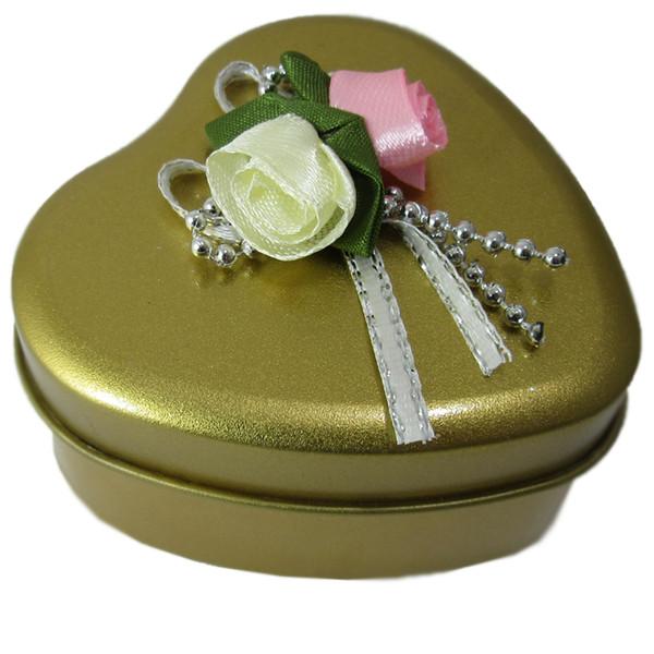 جعبه کادویی فلزی طرح قلب مدل H02
