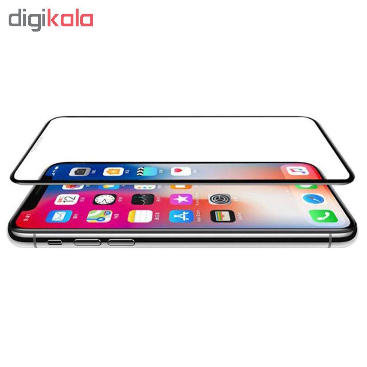محافظ صفحه نمایش 5D  مدل D-2 مناسب برای گوشی موبایل اپل Iphone Xs max main 1 2