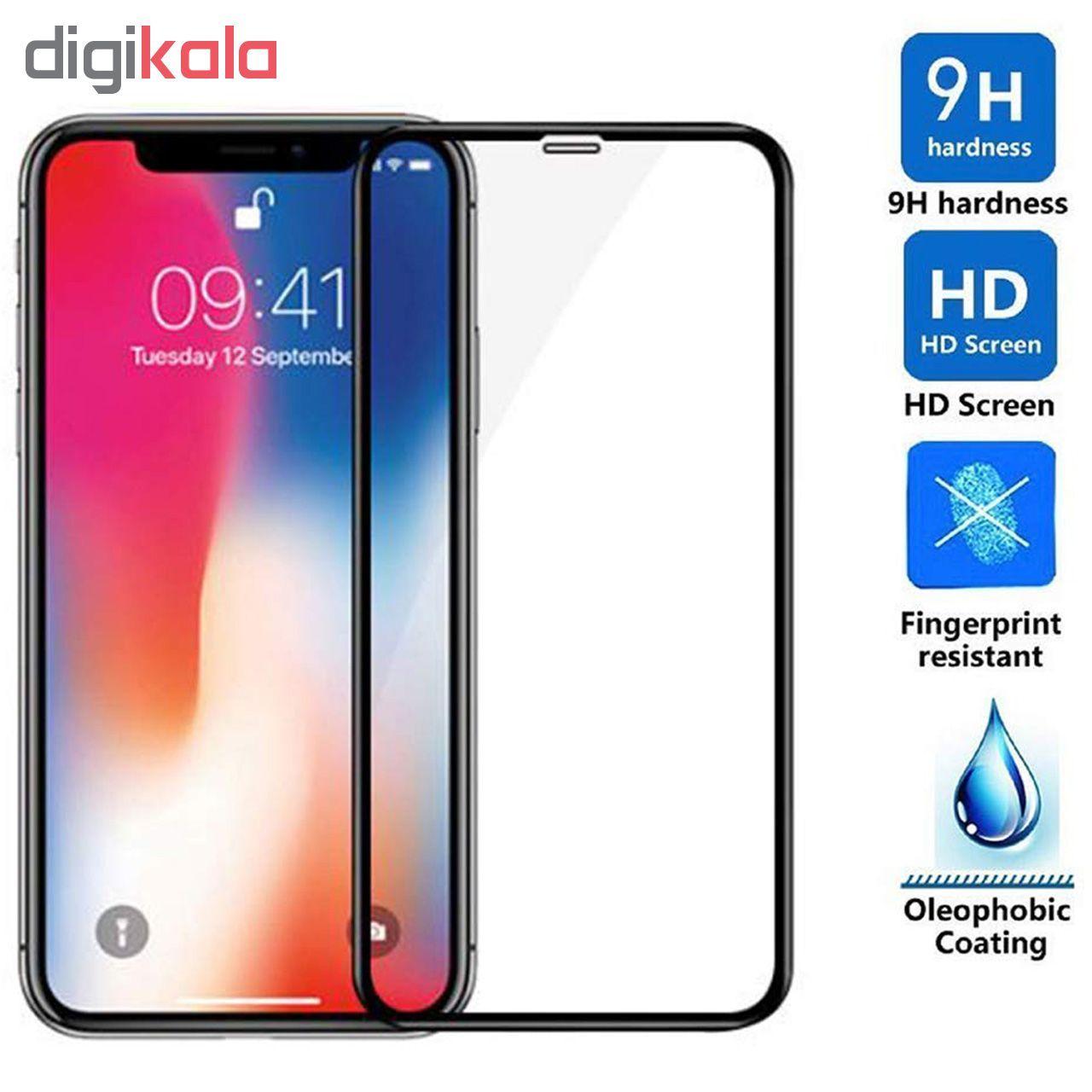 محافظ صفحه نمایش 5D  مدل D-2 مناسب برای گوشی موبایل اپل Iphone Xs max main 1 3