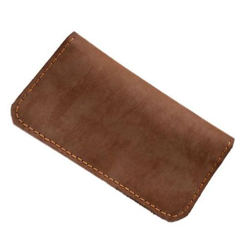 کیف پول چرم طبیعی دست دوز مردانه مدل N100