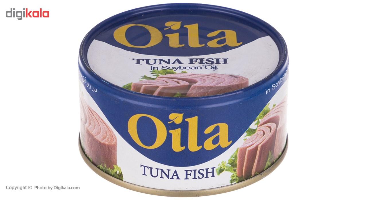 تن ماهی در روغن سویا اویلا مقدار 180 گرم