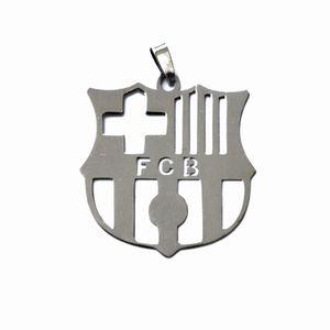 آویز نقره رونیکا گالری طرح بارسلونا مسی کد TiB015