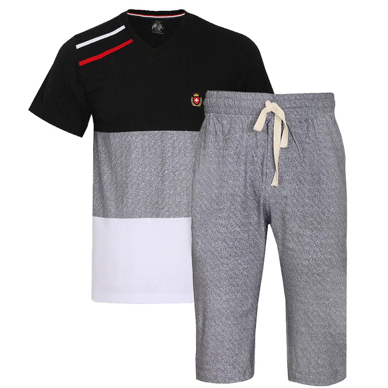 ست تی شرت و شلوارک مردانه دل مد گروپ کد 249121702