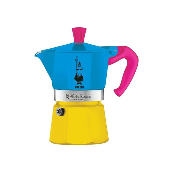 قهوه ساز بیالتی مدل موکا اکسپرس سه فنجان کد 01