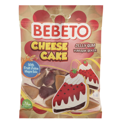 پاستیل ببتو مدل Cheese Cake مقدار 80 گرم