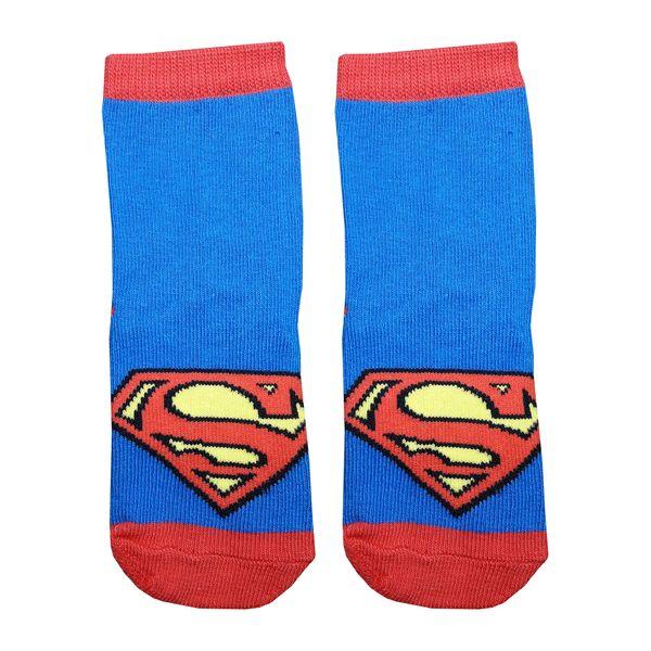 جوراب بچه گانه مدل Superman1