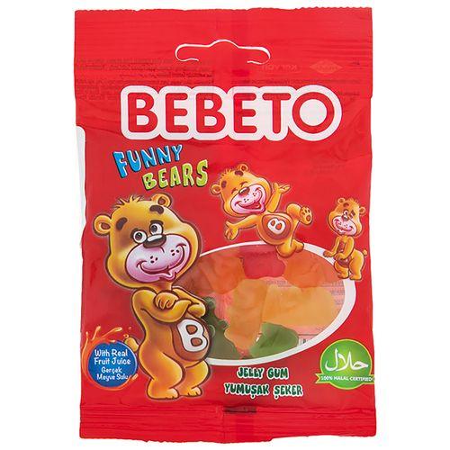پاستیل ببتو مدل Funny Bears مقدار 35 گرم