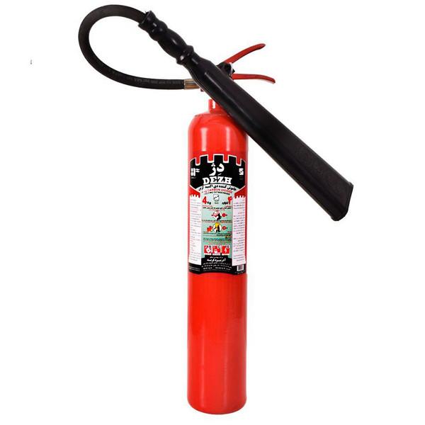 کپسول آتشنشانی CO2 دژ ظرفیت 4 کیلوگرم