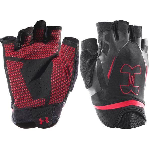 دستکش ورزشی مردانه آندر آرمور مدل UA Flux Half Finger Training